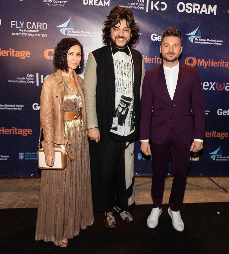 Сергей Лазарев показал выступление для «Евровидения»