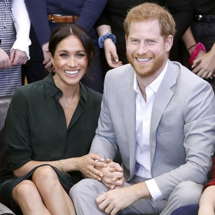 Меган Маркл и принц Гарри впервые показали сына