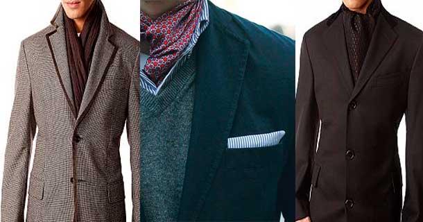 Завязать шарф на пальто мужское 38