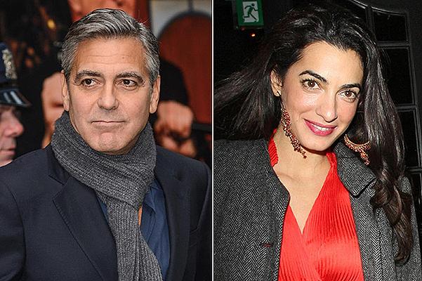 Джорж Клуни и Амаль Аламуддин