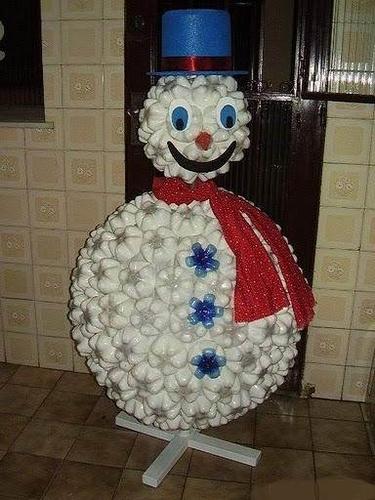 Креативный снеговик - Анкета Милашка